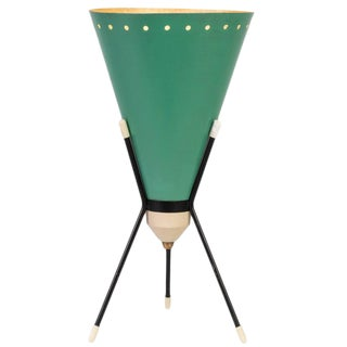 1950s Vintage Stilux Milano 'Vice Versa' Tripod Table Lamp For Sale