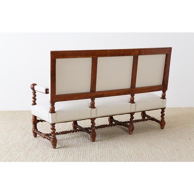 19th Century English Barley Twist Sofa Settee For Sale - Image 11 of 13