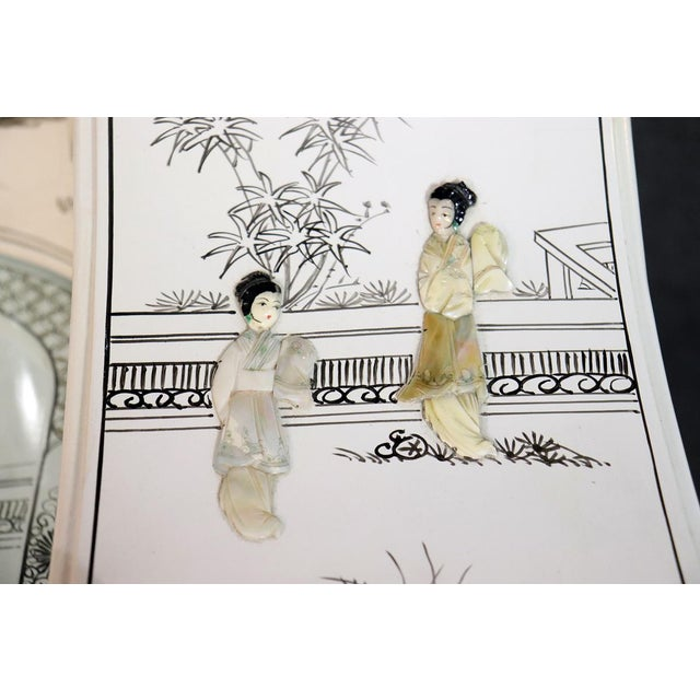 White White Chinoiserie Carlton House Desk For Sale - Image 8 of 13