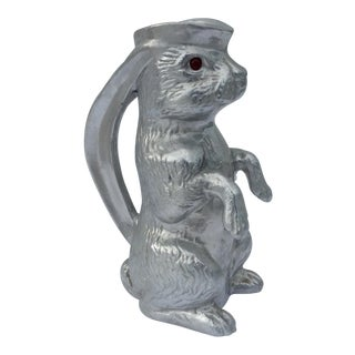 Vintage Arthur Court Rabbit Carafe For Sale