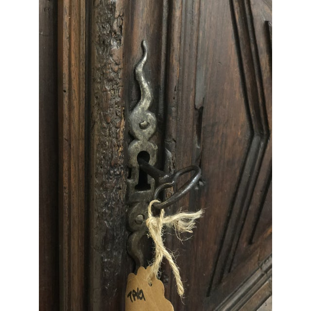 French French Louis XIII Sacristy Cabinet For Sale - Image 3 of 7