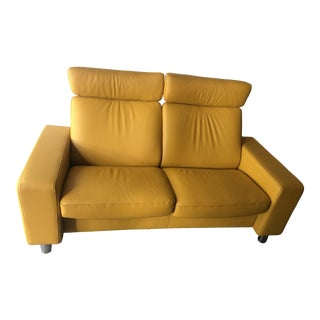 Modern Ekornes Stressless Arion 19 A20 2 High Back Sofa For Sale