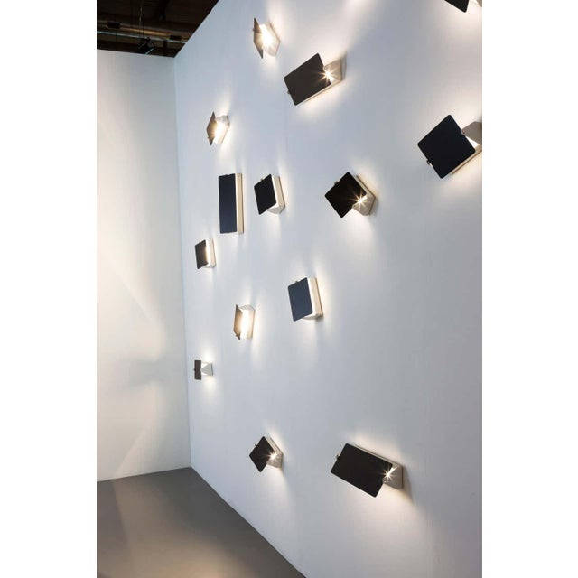 Charlotte Perriand 'Applique á Volet Pivotant' Wall Lights in Black - a Pair For Sale - Image 11 of 12