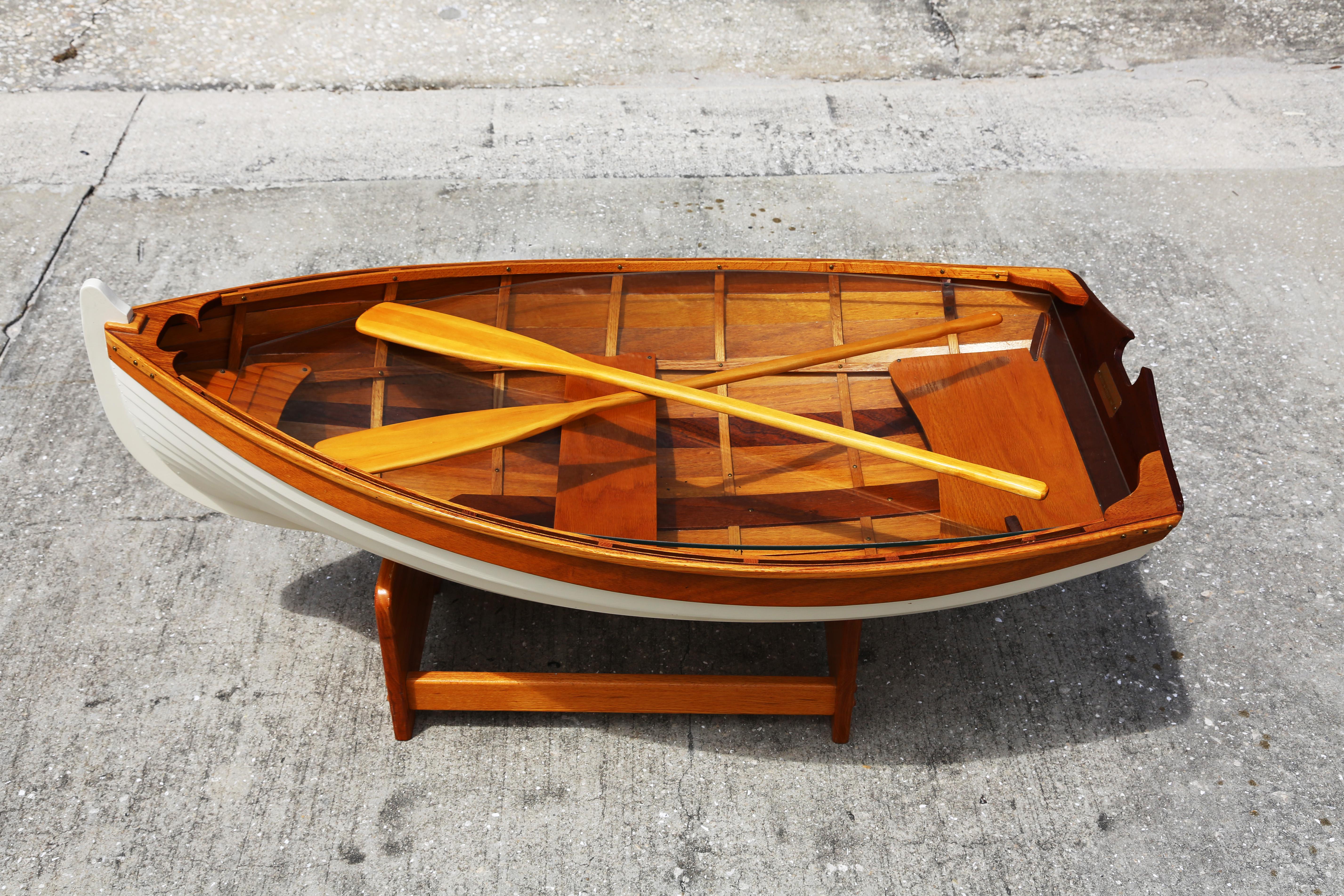 Row Boat Coffee Table Vintage Row Boat Coffee Table Row Boat Coffee