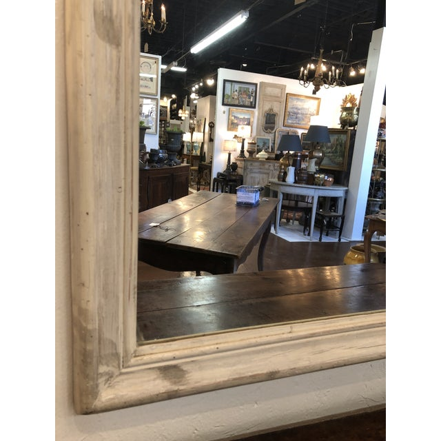 Antique French Trumeau Mirror For Sale - Image 9 of 13