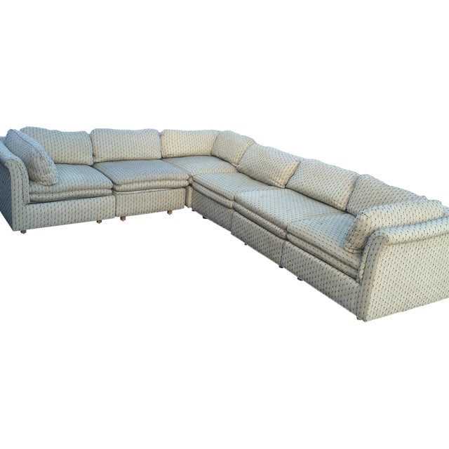 Sherrill Furniture Contemporary Six-Part Sectional - Image 1 of 10