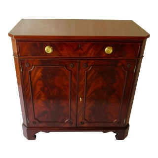 Traditional Mahogany Server by Old Colony For Sale