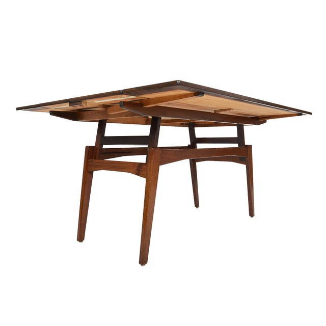 Danish Modern Rosewood Elevation Coffee Table - Image 5 of 8
