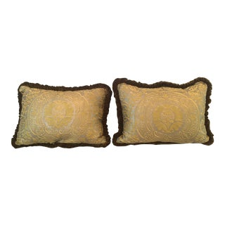 Fortuny Orsini Pattern Pillows - a Pair For Sale
