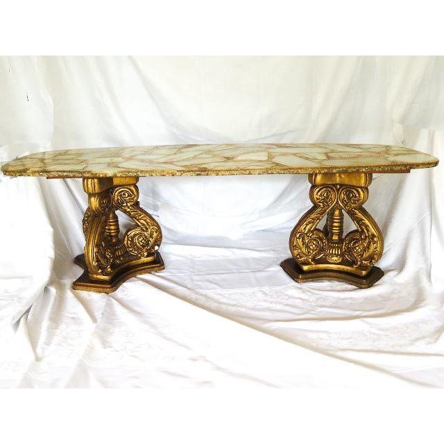 Hollywood Regency 20th Century Hollywood Regency Arturo Pani Coffee Table For Sale - Image 3 of 7