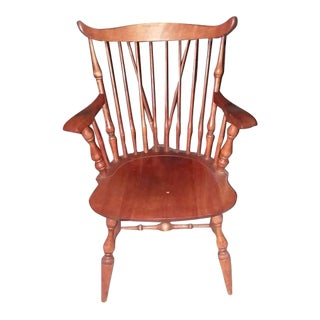 1950s Vintage Windsor Style Chair For Sale