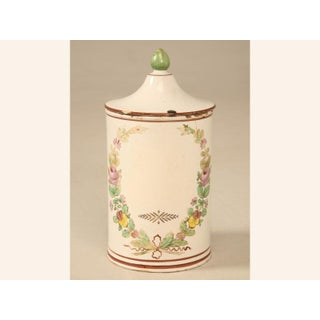 French Hand-Painted Apothecary Jar Preview
