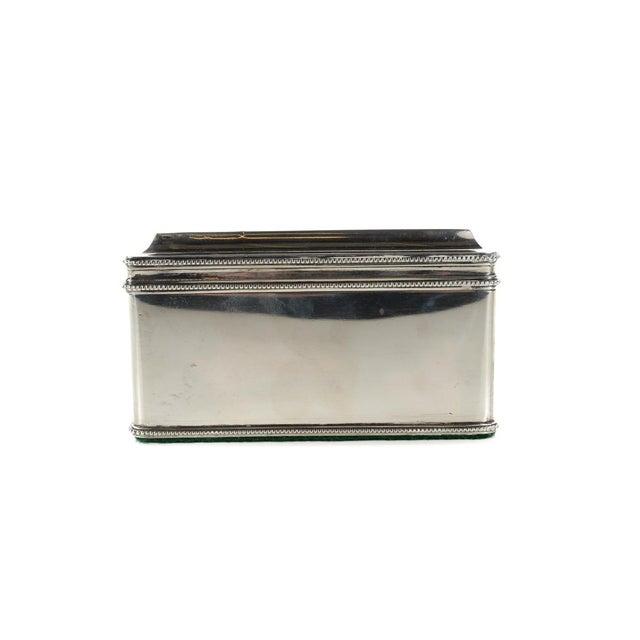 Traditional Dutch Silver Biscuit Box Mark of Bonebakker For Sale - Image 3 of 9