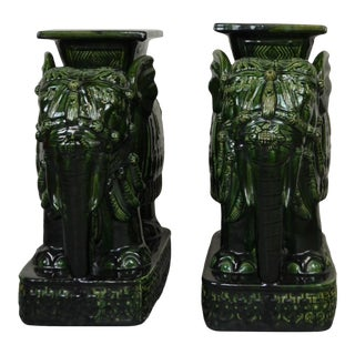 Pair of Asian Garden Stools For Sale