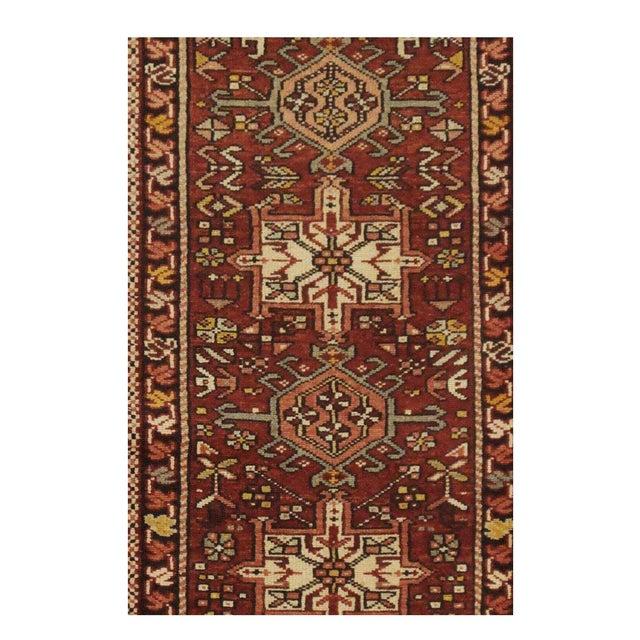 Persian Vintage Persian Karaje Runner - 2.2 x 10.5 For Sale - Image 3 of 5