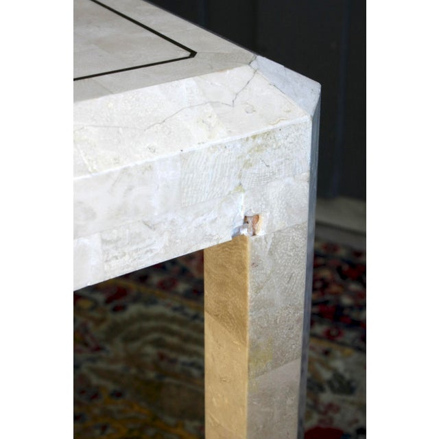 Maitland Smith Tessellated Marble Tables, a Pair For Sale - Image 11 of 13