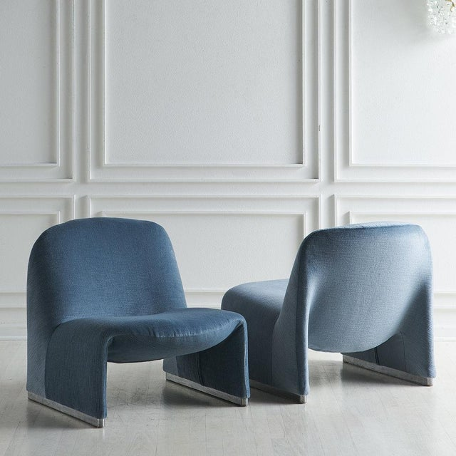 Giancarlo Piretti Pair of Alky Chairs by Giancarlo Piretti For Sale - Image 4 of 13