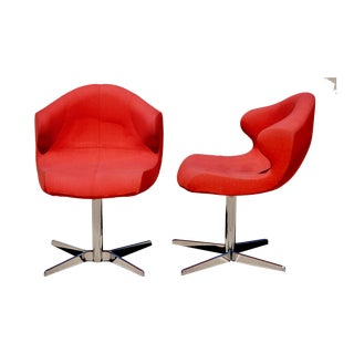 Ligne Roset Alster Chairs- A Pair For Sale