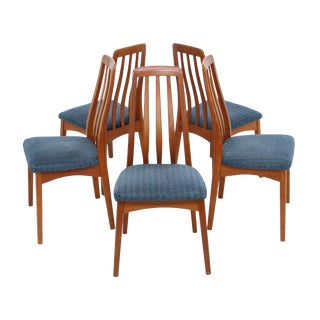 Benny Linden Danish Teak Chairs - Set of 5