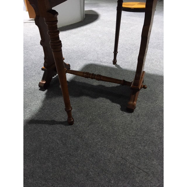 19th Century Pennsylvania Dutch Swing Leg Table For Sale - Image 10 of 13