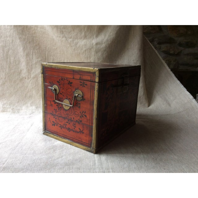 19th Century Chinese Tea Caddy For Sale - Image 6 of 12