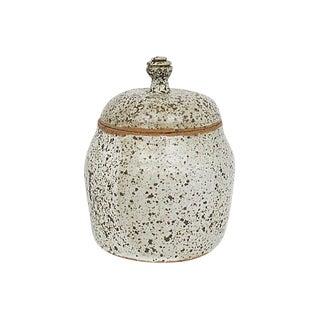 Mid-Century Studio Pottery Jar For Sale