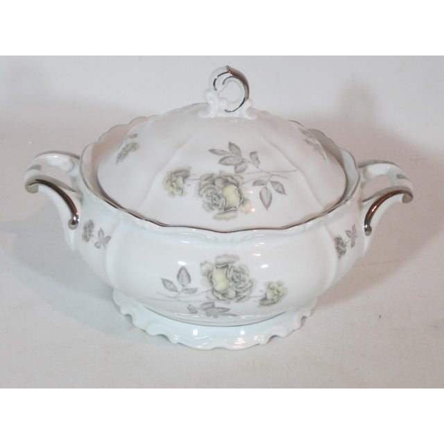 Ceramic Edelstein Co. German Round Covered Vegetable Tureen For Sale - Image 7 of 7