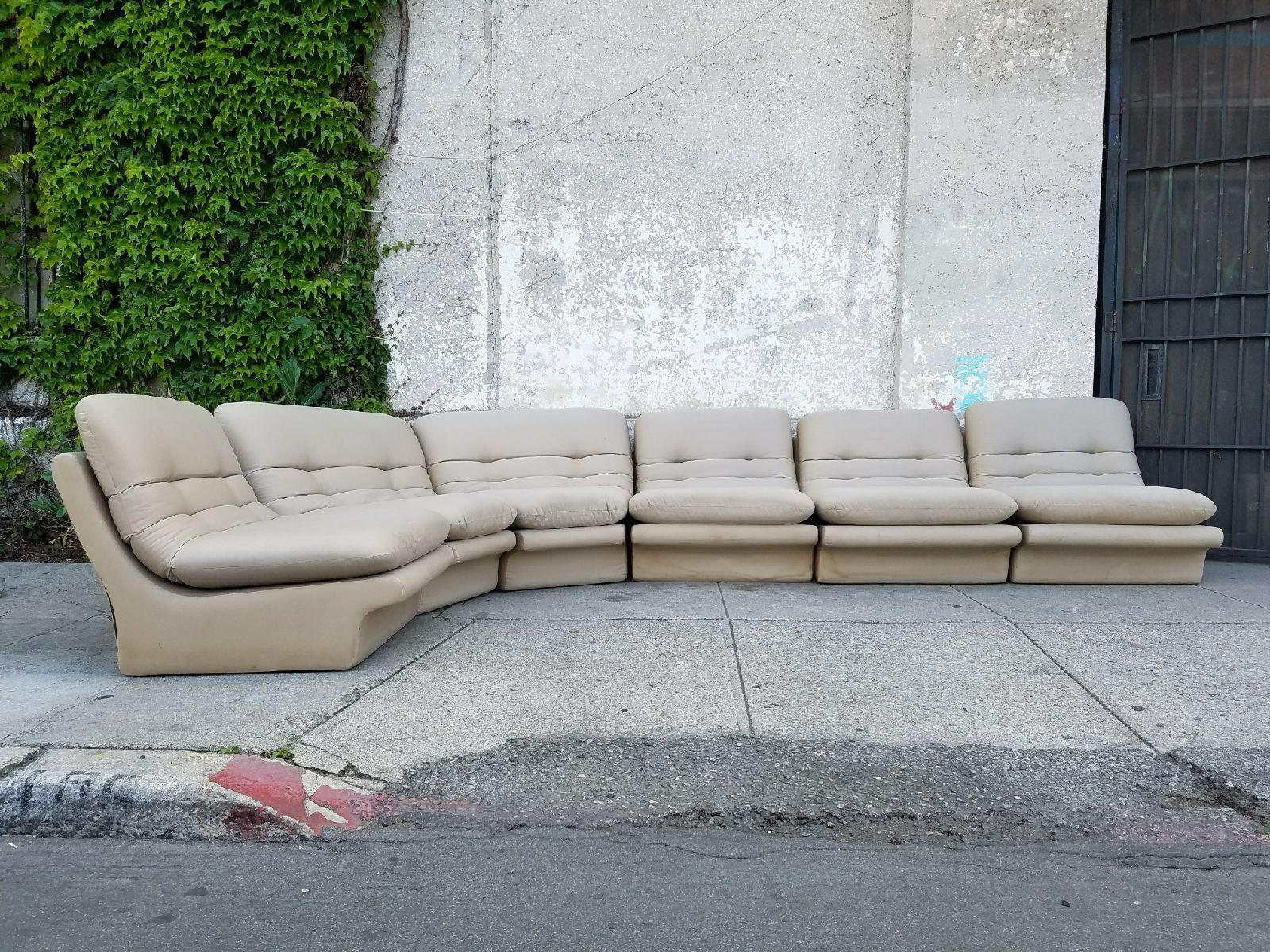 Vintage Vladimir Kagan Sectional Sofa
