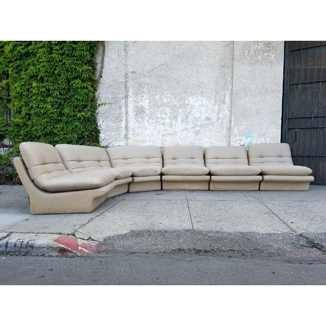 Sectional Sofa Sale Los Angeles: Vintage Vladimir Kagan Sectional Sofa