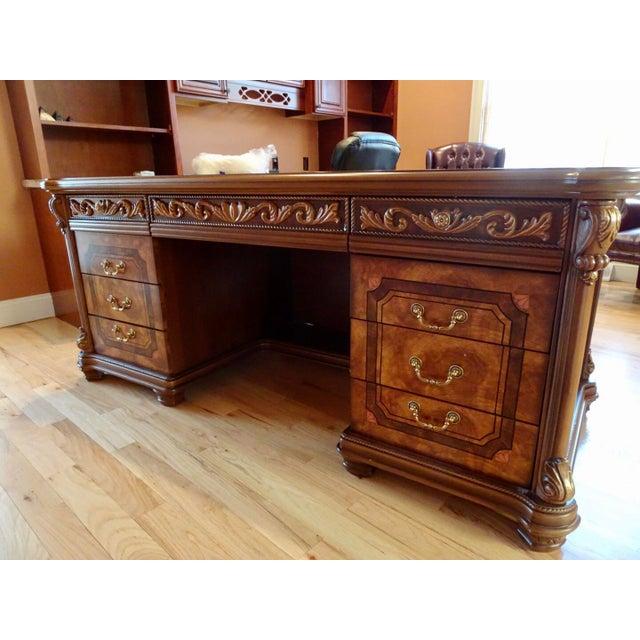 Italian Office Executive Desk For Sale - Image 4 of 8
