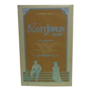 The Scott Joplin Band Concert Poster
