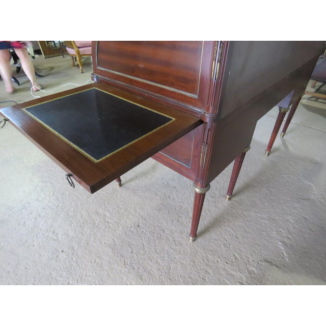 Maison Jansen Directoire Style Cylinder Desk For Sale - Image 9 of 11