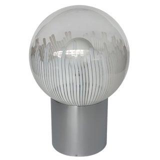 Ludovico Diaz De Santillana Murano Glass Anemoni Table Lamp for Venini For Sale