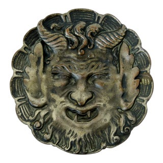 French Cast Bronze Trinket Dish For Sale