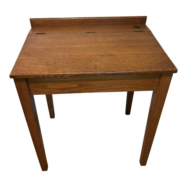 Antique Oak Writing Desk - Antique Oak Writing Desk Chairish