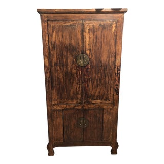 20th Century Chinese Wedding Armoire For Sale