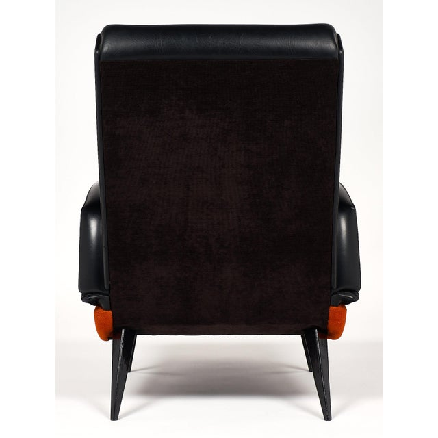 French Mid-Century Armchairs - a pair For Sale - Image 9 of 10