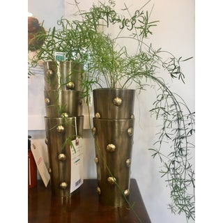 Brass Dots Vase Preview