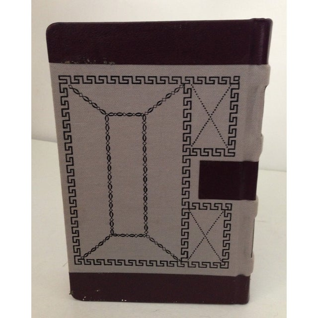 Decorative Leather Bound Books/Journals - S/3 For Sale In Los Angeles - Image 6 of 6