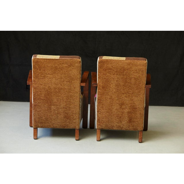 Tremendous 1920S Vintage Art Deco Lounge Chairs A Pair Chairish Ocoug Best Dining Table And Chair Ideas Images Ocougorg
