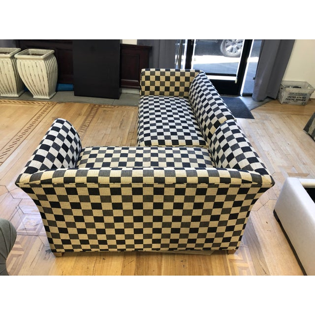 A.Rudin Custom Two-Piece Sectional For Sale In San Francisco - Image 6 of 12
