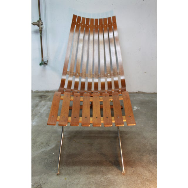 Hans Brattrud Scandia Lounge Chair & Ottoman For Sale - Image 7 of 11