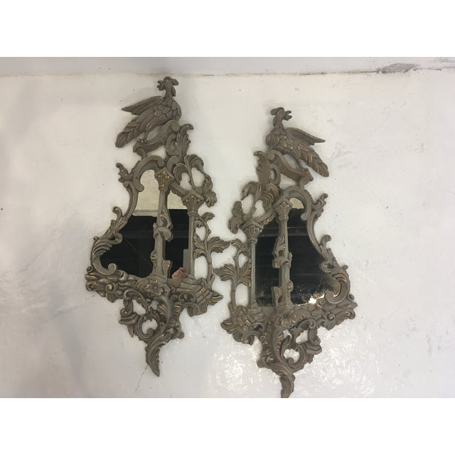 Chinese Chippendale Style Mirrors, a Pair For Sale - Image 13 of 13