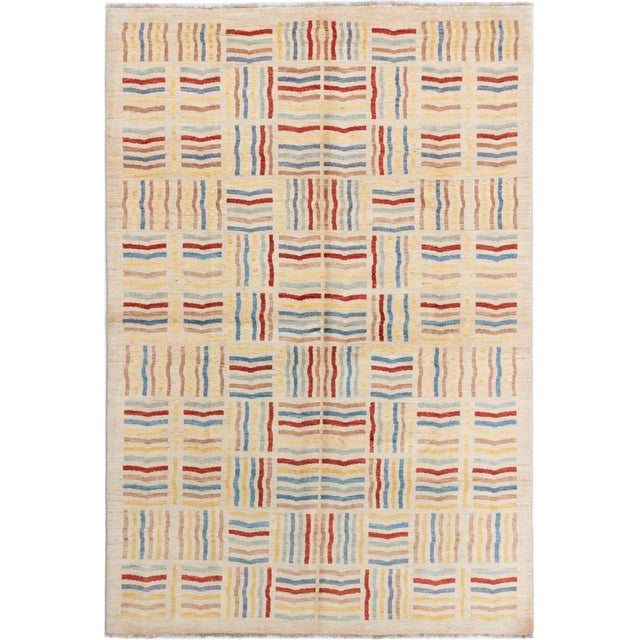 2010s Hand-Knotted Rug- 6′6″ × 9′10″ For Sale - Image 5 of 5
