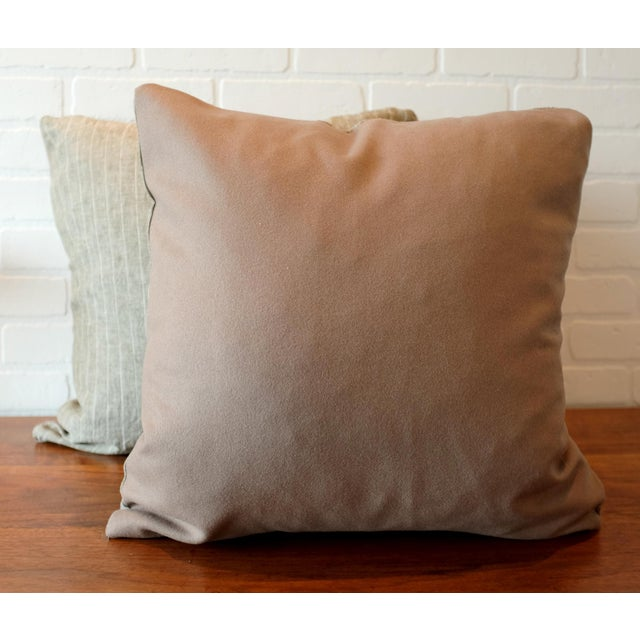 Rogers & Goffigon Washed Linen Striped Pillow Covers - A Pair For Sale - Image 4 of 7