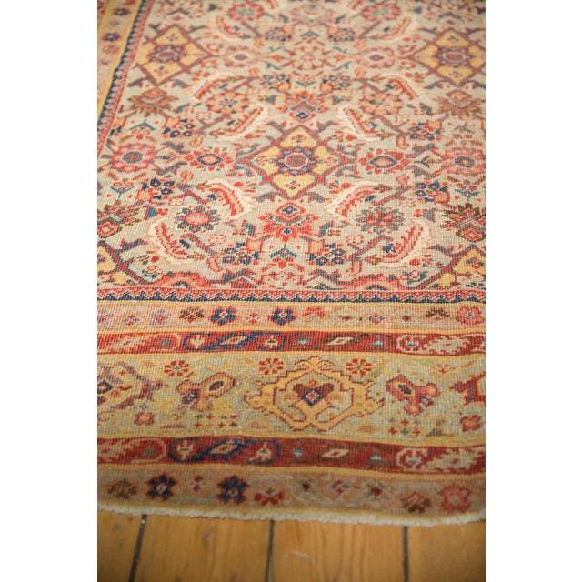 "Antique Distressed Malayer Rug Runner - 6'5"" X 12'8"" For Sale In New York - Image 6 of 13"