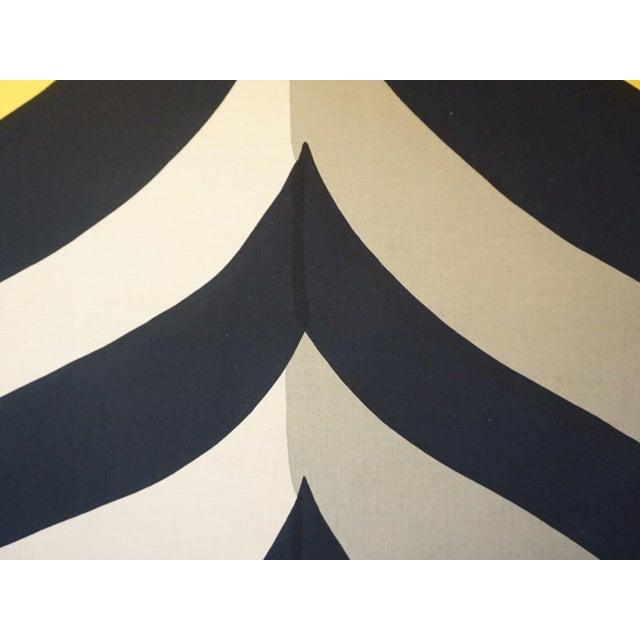 Vintage Marimekko Framed Fabric For Sale - Image 5 of 5