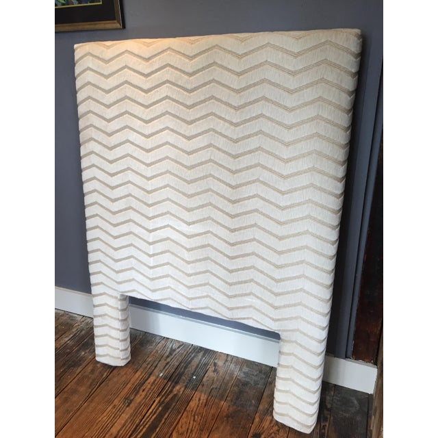 Custom Twin Size Upholstered Headboard - Image 2 of 7
