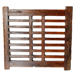 1970s Chinese Wooden Gate/Room Divider For Sale