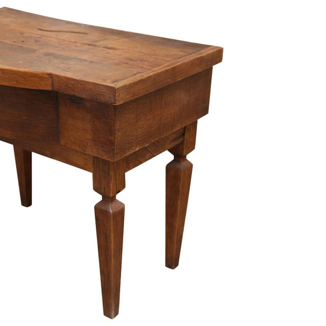 French French Walnut Vanity Table For Sale - Image 3 of 8